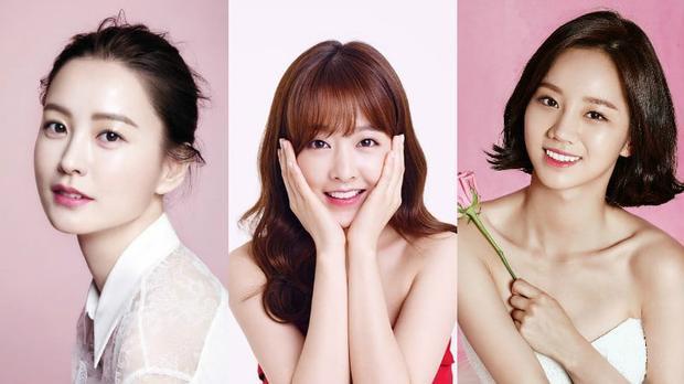 Top 3 Nữ diễn viên dễ thương nhất màn ảnh xứ Hàn: Jung Yoomi, Park Bo Young, Hyeri.