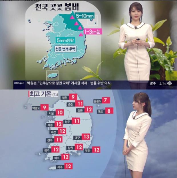 Kang Arang trở thành MC thời tiết của đài KBS vào năm 2015, trước đó cô từng làm phát thanh viên tại đài.
