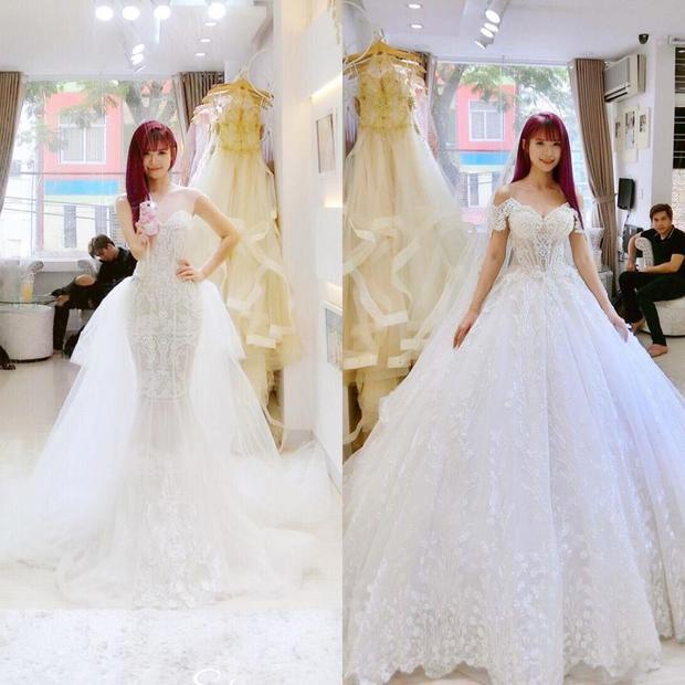 Theo bạn, Khởi My mặc váy cưới nào đẹp hơn?