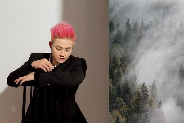 Ít ai biết rằng chàng trai tóc hồng luôn tươi vui này vẫn có những góc khuất khó sẻ chia.