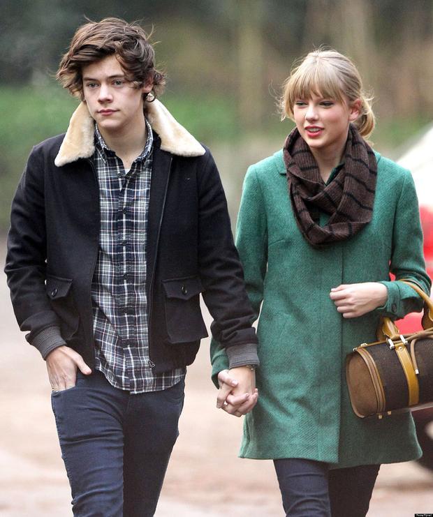 Harry Styles cùng Taylor Swiftcùng nhau ăn trưa thời còn quen nhau.