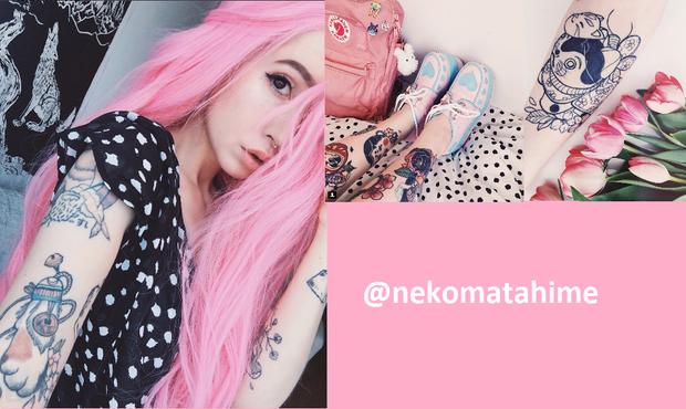 @Nekomatahime là một cô nàng cực cá tính và có sở trường thiết kế đồ họa.