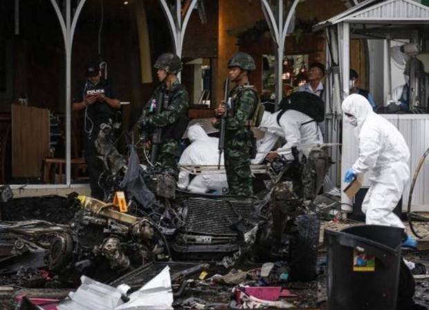 Nổ bom kép ngay trong siêu thị Big C Thái Lan: 56 người bị thương