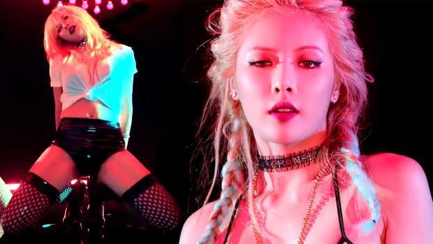 """Không quá khi nói HyunA là """"quả bom sexy"""" số 1 Kpop."""