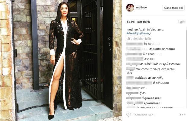Chị Đại Lukkade Metinee bất ngờ đăng ảnh instagram thông báo đang ở The Face Việt Nam