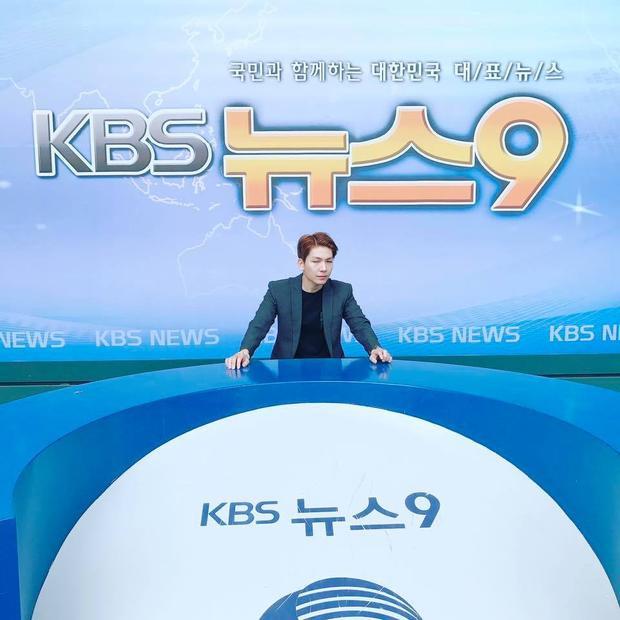 Khởi My và Kelvin Khánh còn có chuyến thăm quan Đài truyền hình KBS.