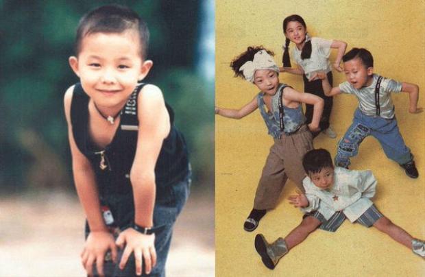 G Dragon và Mi Rin lúc nhỏ trong Little Roo'Ra.