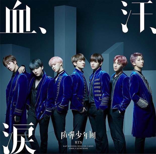Oricon - BXH danh tiếng nhất Nhật Bản cũng đã gọi tên BTS ở vị trí số 1.