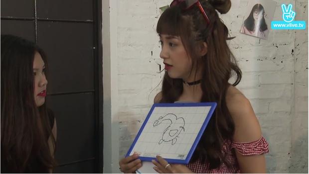 """Bức vẽ """"Khoai tây mọc mầm"""" của đội Quỳnh Anh Shyn."""