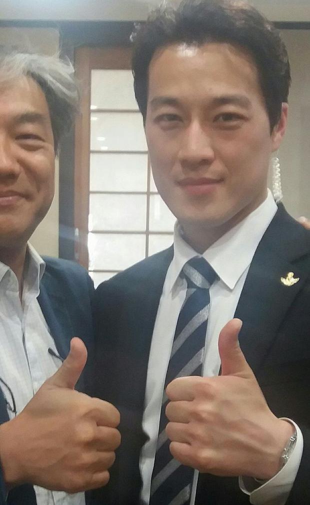 Vệ sĩ Choi Young-jae nam nay 36 tuổi, anh xuất thân là sĩ quan quân đội