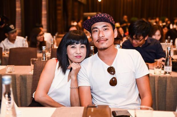 Cát Phượng và Kiều Minh Tuấn.