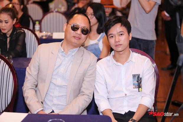 Nguyễn Hải Phong và học trò Sing My Song Bùi Công Nam.