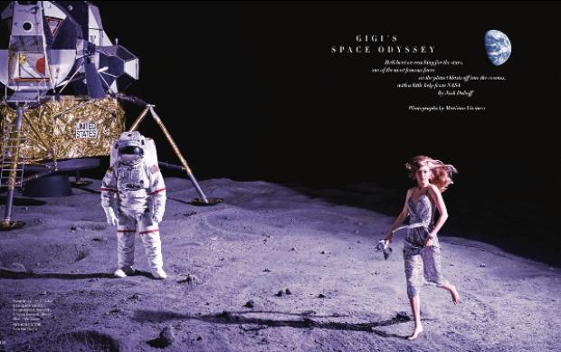 Và cuộc dạo chơi trên mặt trăng đẹp như trong mơ.