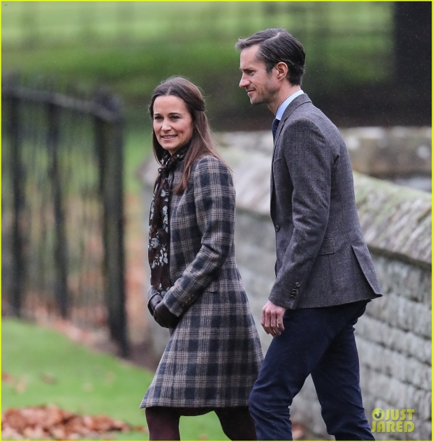 Pippa Middleton cùng bạn trai đại gia James Matthews.
