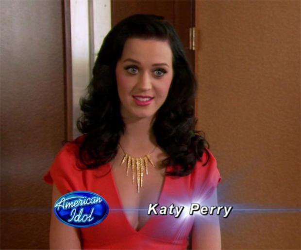 Katy từng làm giám khảo khách mời cho vòng thử giọng của cuộc thi.