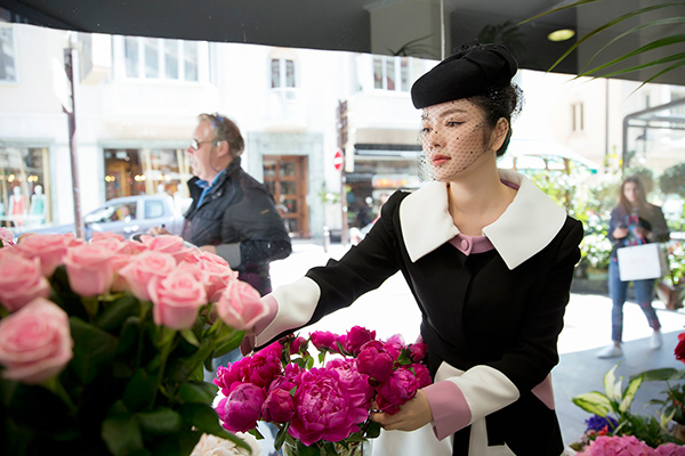 Đã từ rất lâu, cựu Đại sứ Du lịch Việt Nam vô cùng ngưỡng mộ Công nương Grace Kelly.