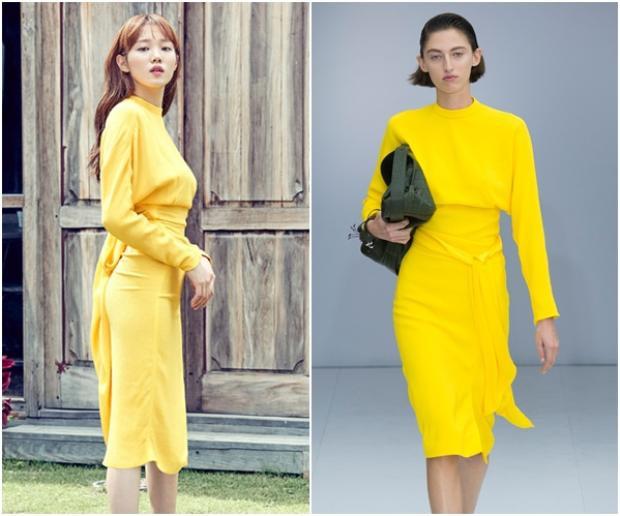 Chiếc đầm màu vàng chanh từ nhà mốt không chỉ Lee Sung Kyung mà…