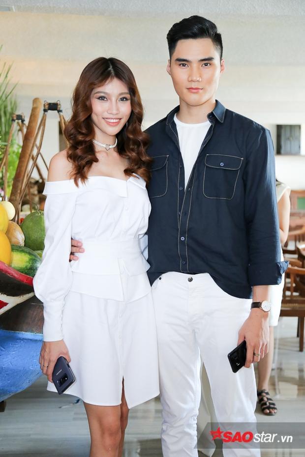 Cặp đôi Quỳnh Châu - Quang Hùng.