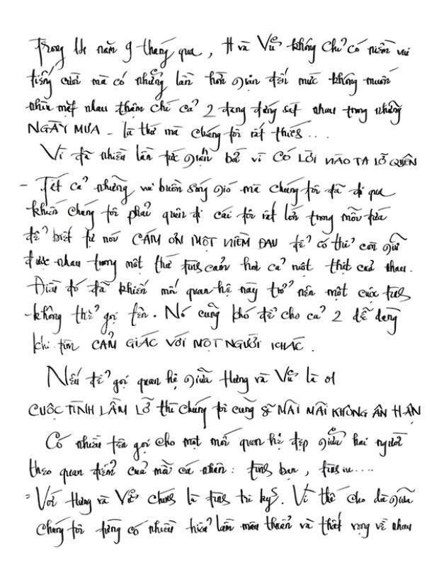 Đàm Vĩnh Hưng viết tâm thư kể chuyện tình 14 năm 9 tháng với Dương Triệu Vũ