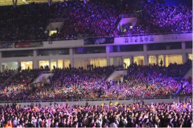 Music K-Plus tổ chức tại Sân Vận động Mỹ Đình.
