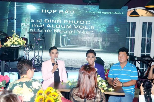 Sau thời gian lưu diễn trong và ngoài nước, Đình Phước sẽ tiếp tục cho ra mắt album Vol.10.