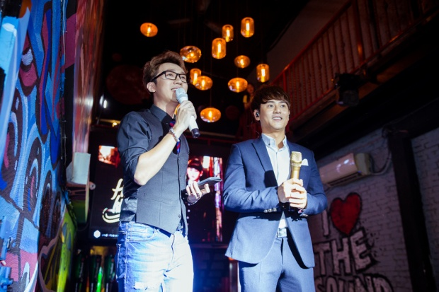 Trong sự kiện, Ưng Đại Vệ chia sẻ về dự án Hẹn em kiếp sau - đây cũng sẽ là bước khởi đầu cho chuỗi dự án trở lại hoành tráng sau khi kết thúc cuộc thi Sing my Song.MV sẽ ra mắt vào ngày 22/5.