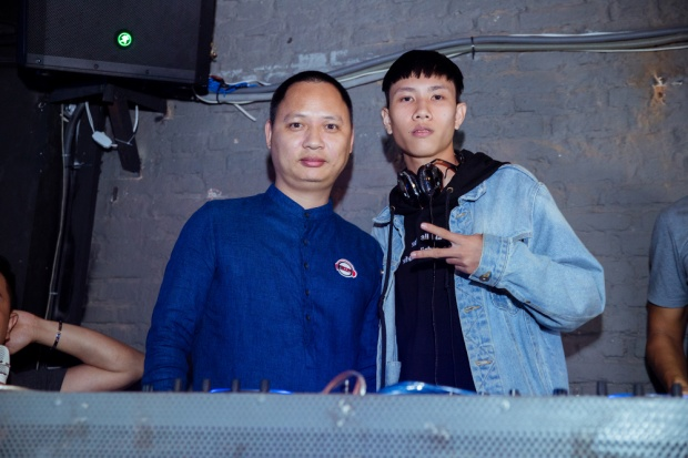 Nhạc sĩ Nguyễn Hải Phong và DJ Hoaprox