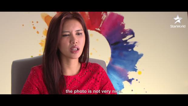 Dù không hài lòng với những bức ảnh Cindy chụp cho mình…