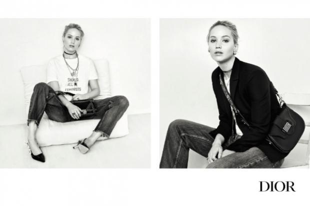Hình ảnh thanh lịch cuốn hút của Jennifer trong quảng cáo chuẩn bị cho chiến dịch ra mắt trước đó bởi nhiếp ảnh giaBrigitte Lacombe.