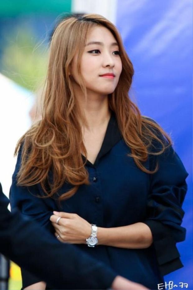 """""""Tôi sẽ làm việc chăm chỉ để trở thành 1 Yoon Bo Ra tốt hơn""""."""