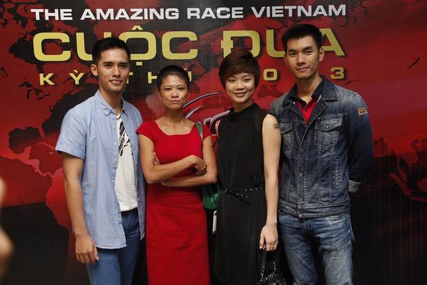 Dương Đức Hưng là động đội của Thuỳ Dung trong chương trình Cuộc đua kì thú 2013.