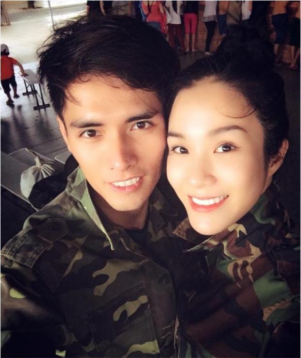 Thí sinh điển trai của Cuộc đua kì thú 2013 từng là bạn trai của nữ người mẫu/ MC/ diễn viên Diệp Lâm Anh.