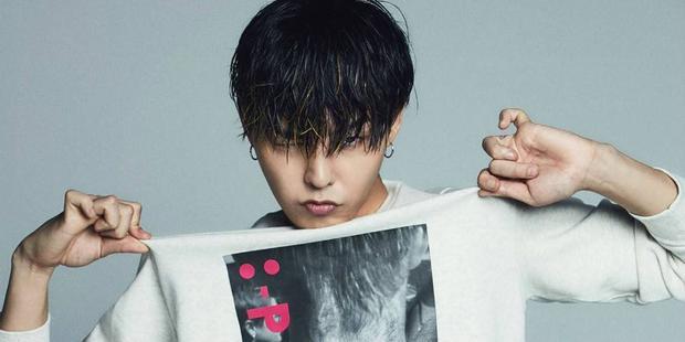 Trưởng nhóm BigBang - G-Dragon đang ghi hình cho 1 MV âm nhạc mới.