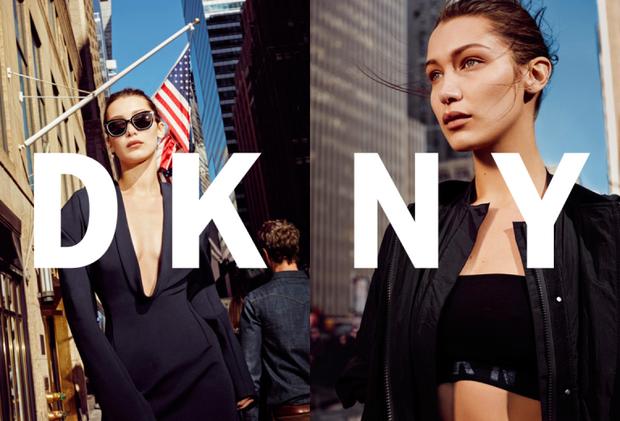 Thừa thắng xông lên, nàng mẫu 21 tuổi là ngôi sao quảng bá cho bộ sưu tập Xuân Hè 2017 của thương hiệu thời trang đất nước cờ hoa DKNY.