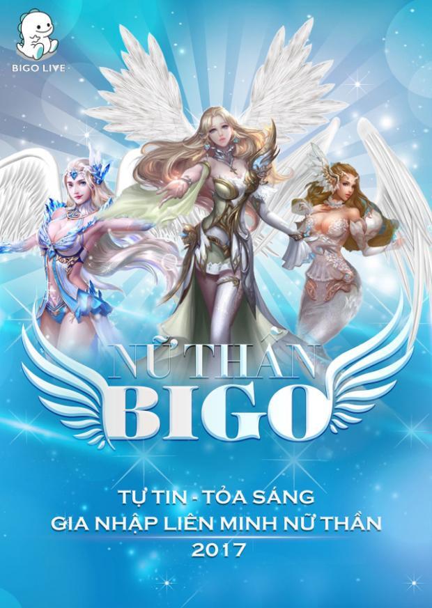 Nữ thần Bigo là cuộc chơi hấp dẫn với tính tương tác cao và giải thưởng hấp dẫn lên đến 200 triệu đồng cho ngôi vị cao nhất.