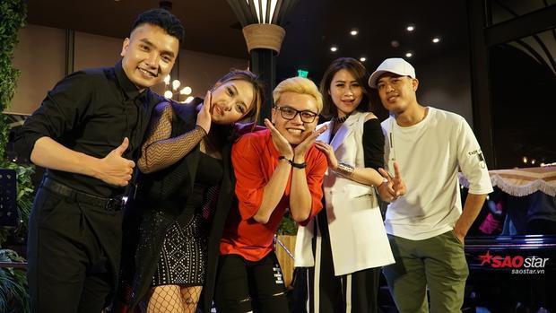 Đêm nhạc của Hồng Ngọc diễn ra thành công với sự góp mặt của Dương Thuận, Hà Đặng, Phan Tuấn Anh.