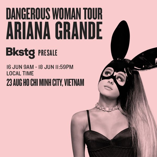 NÓNG: Ariana Grande đến TP HCM ngay trong tháng 8 với giá vé cực mềm!