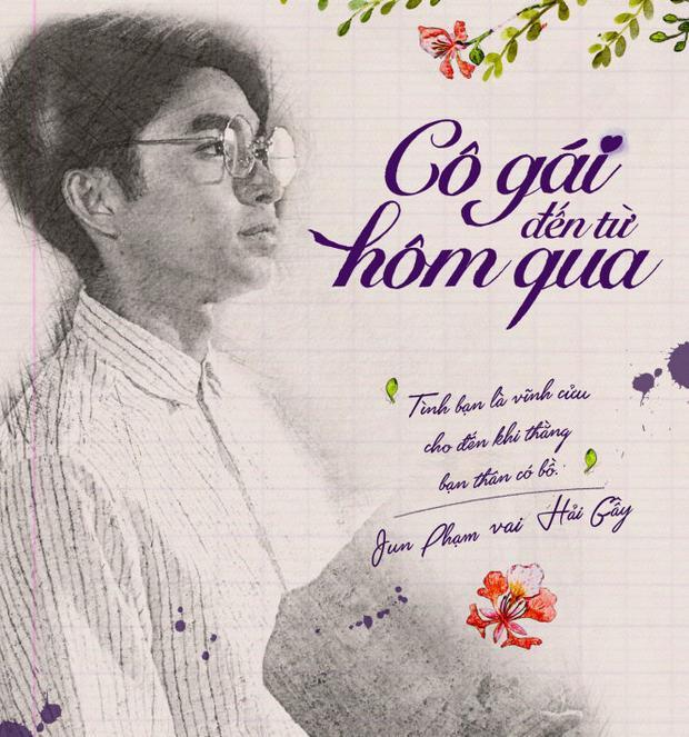 Poster nhân vật Hải gầy của Jun Phạm trong Cô gái đến từ hôm qua