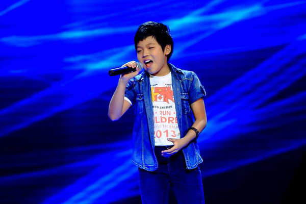 Anh chàng hot boy của Giọng hát Việt 2014.