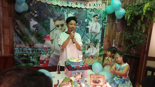 Nam ca sĩ nhí vừa đón sinh nhật tuổi 15 cách đây ít ngày.