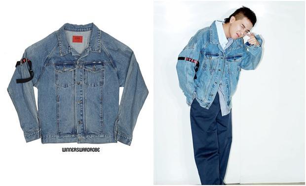 Áo jacket denim của Over từng được báo Hàn đưa tin cháy hàng liên tục do hiệu ứng của anh chàng rapper này đã khiến dân tình nhanh tay tậu về để mặc.