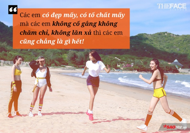 Sự chăm chỉ và hết mình chính đã khiến team Minh Tú giành chiến thắng. Đó cũng chính là điều mà HLV Hoàng Thùy cần ở các học trò của mình.