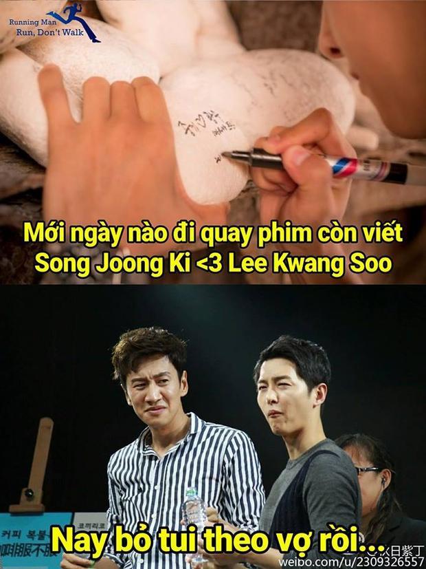 Fan còn chế thêm đủ mọi cảm xúc cho Lee Kwang Soo.