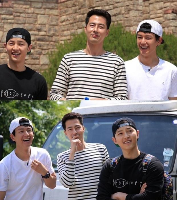 Những người bạn thân thiết của Song Joong Ki đến rủ Lee Kwang Soo đi du lịch.