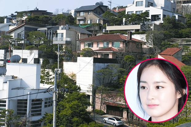 Bi Rain và Kim Tae Hee cũng sống tạingôi nhà thuộc khu vực đắc địa này.