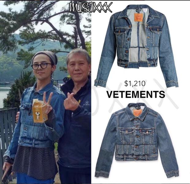 """Áo jacket denim với dáng ngắn mang lại diện mạo khá """"nữ tính"""" trong cách mix của anh chàng này."""