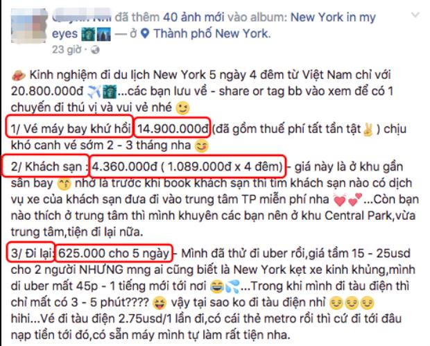 Review du lịch New York chỉ với hơn 20 triệu đồng, nữ DJ xinh đẹp bị cộng đồng mạng ném đá dữ dội