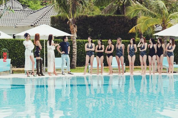 Top 9 The Face khoe sắc trong trang phục bikini của IVY moda ở tập 5 này.