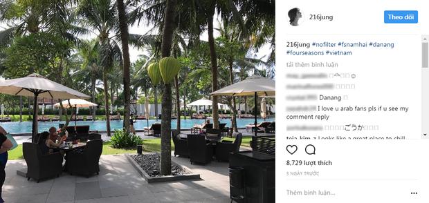 Cả hai đã dành nhiều ngày tận hưởng không gian tươi đẹp tại Đà Nẵng, Việt Nam.