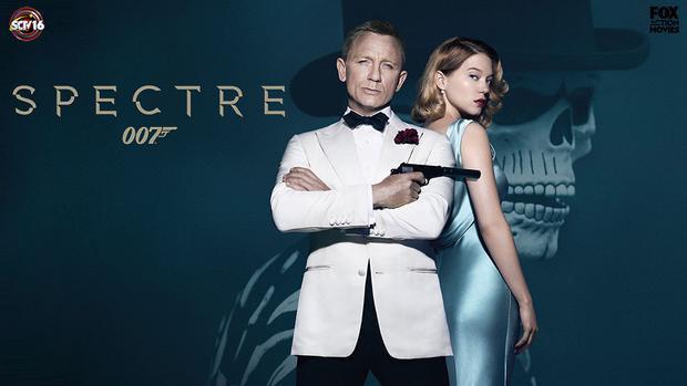 Spectre do John Logan, Neal Purvis và Robert Wade chấp bút kịch bản, mang màu sắc hoài cổ và huyền bí, sẽ làm hài lòng cả những fan kỳ cựu nhất, phát sóng trên kênh Fox Action Movies vào lúc 11h tối, Thứ Bảy ngày 22 tháng 7, 2017.